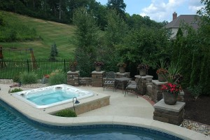The Pros And Cons Of In Ground Hot Tubs And Spas Brothers Pool Blog