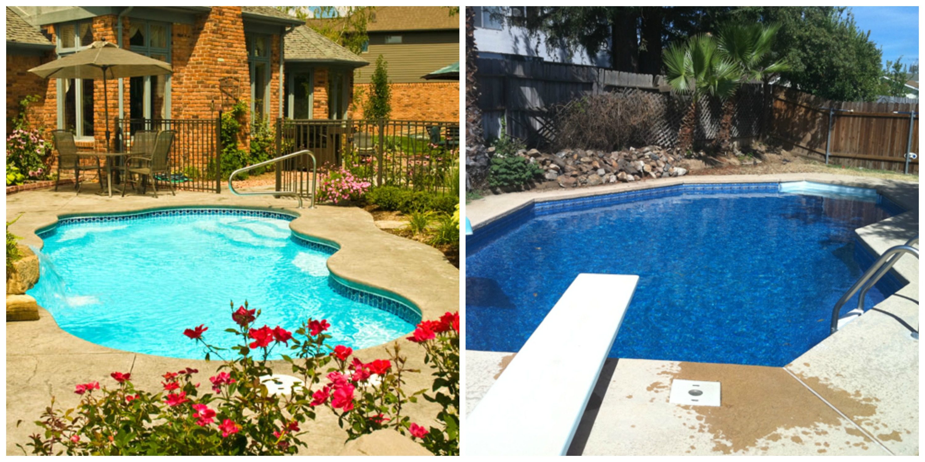 Fiberglass Pools Vs Vinyl Liner Pools Brothers Pool Blog