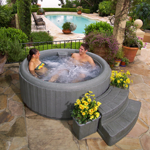 Dreammaker A Hot Tub Can Really Help To Minimize Your Stress Level Stus Have Proven Hydrotherapy Through Heated Water And Jet Mage Relax
