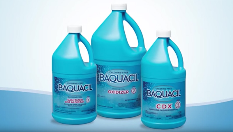 Retail store chemicals baquacil cdx pool care system for Easy care pool products
