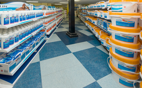 Aisles of Chemicals and Systems
