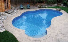Custom Inground Vinyl Pool