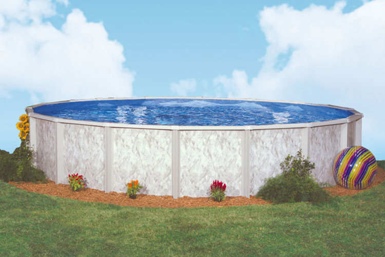Silver lake by doughboy pools above ground pools for - Swimming pool supply stores near me ...