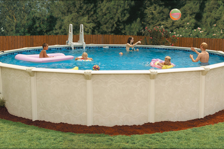 Sterling by embassy pools above ground pools for sale in ct for Above ground swimming pools for sale near me